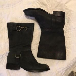 Cole Haan Nike Air mid calf boots - 7.5